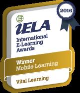 IELA Management Elearning Award for Vital Learning