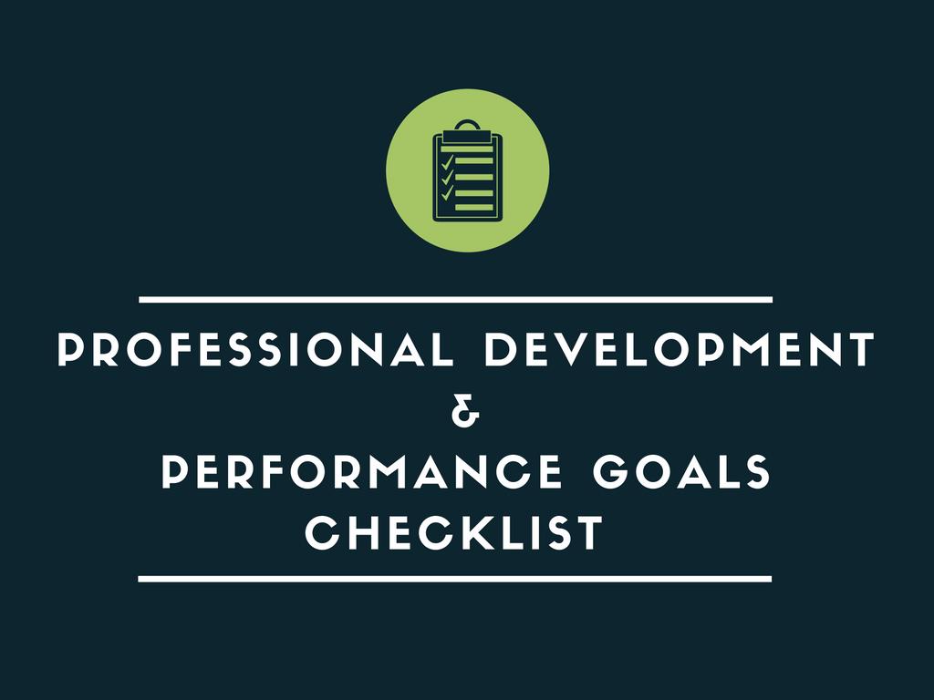 professional_development_performance_goals_checklist.png