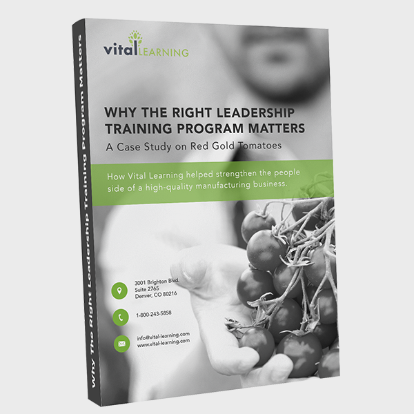 Why The Right Leadership Training Program Matters