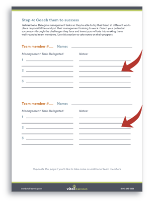 Succession Planning Process Template coaching employees