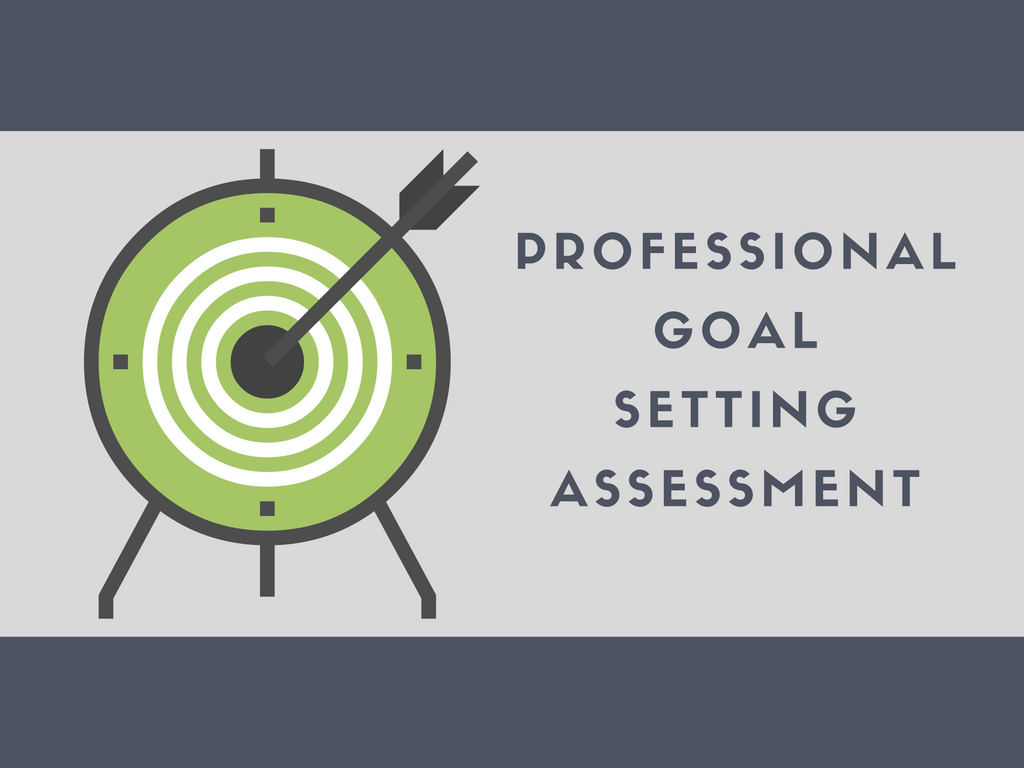 Professional Goal Setting Assessment