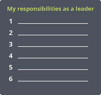 How to delegate responsibilities